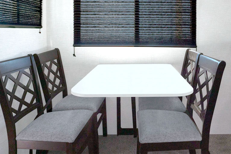 Free-Standing Chairs w/Legless Dinette